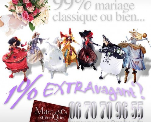 marquises mariages excentriques