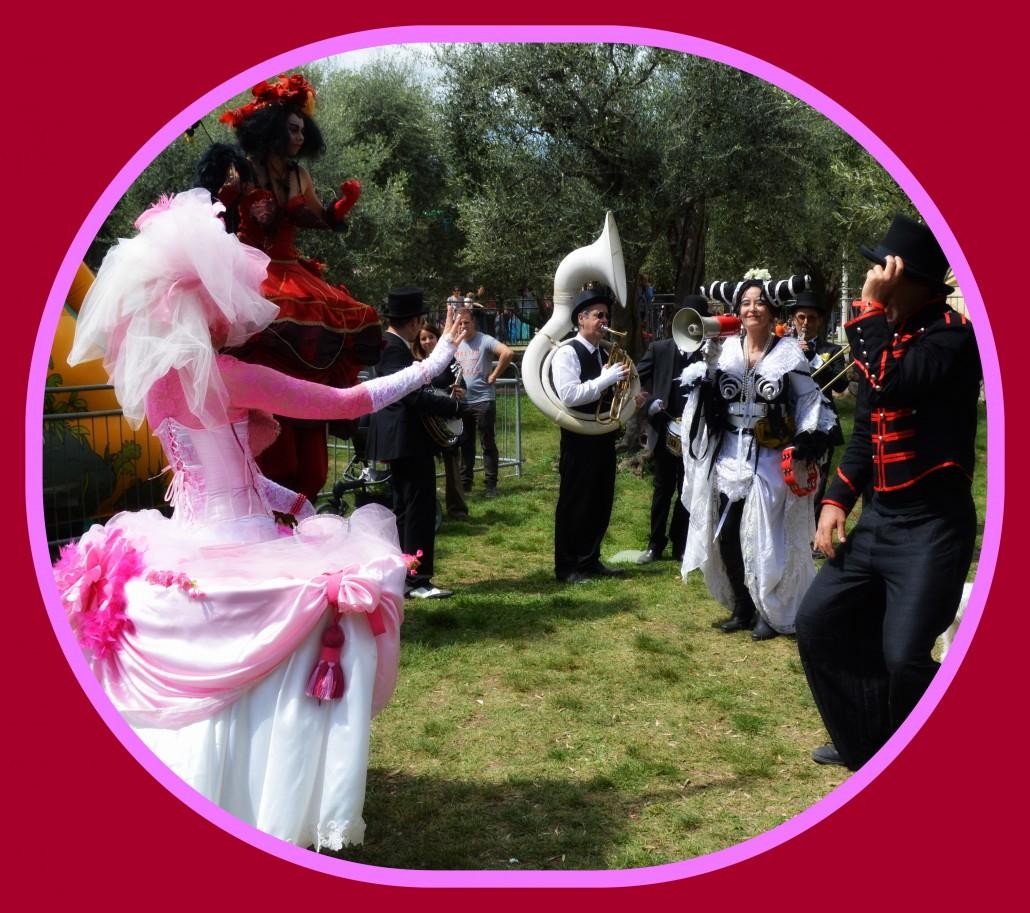 On street Cabaret : A Garden Party
