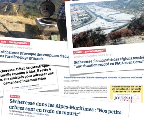 """Conférence / Débat 5 Juillet : """"La résilience des Alpes Maritimes face à l'effondrement climatique et à la crise des ressources"""""""