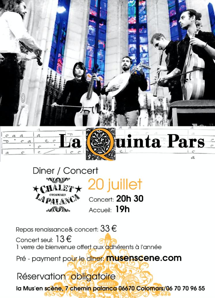 La Quinta Pars Concert