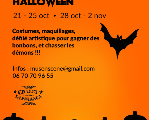 "STAGE DE CIRQUE ""HOLLYWIN CONTRE HALLOWEEN !"""