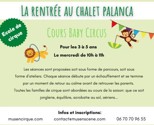 CIRQUE et NATURE (Tarifs et infos sur musencirque.com)